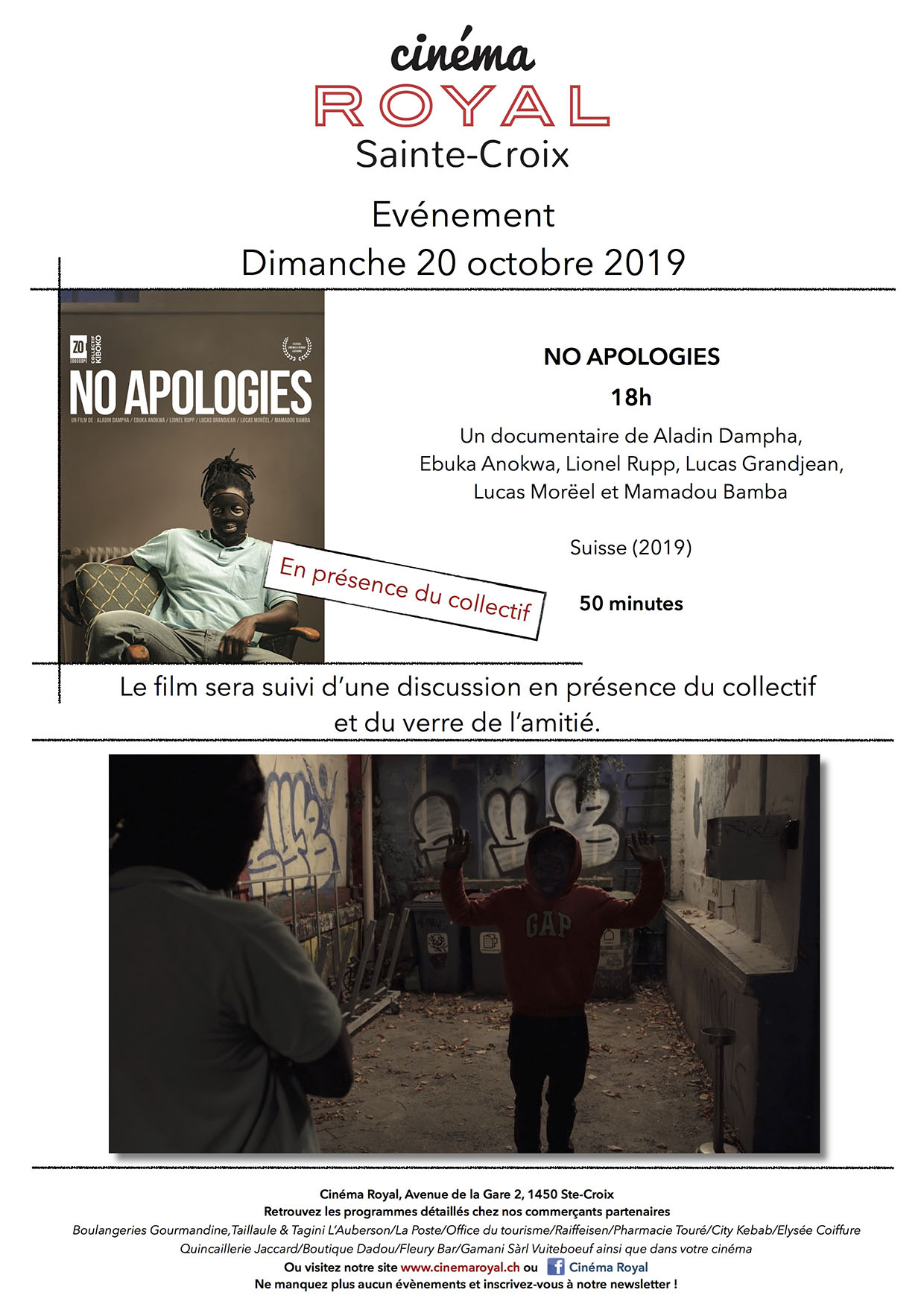 Event No Apologies