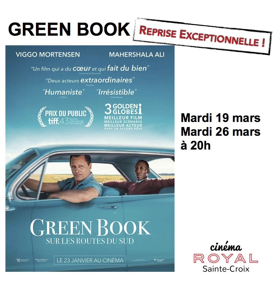 reprise format insta Green Book