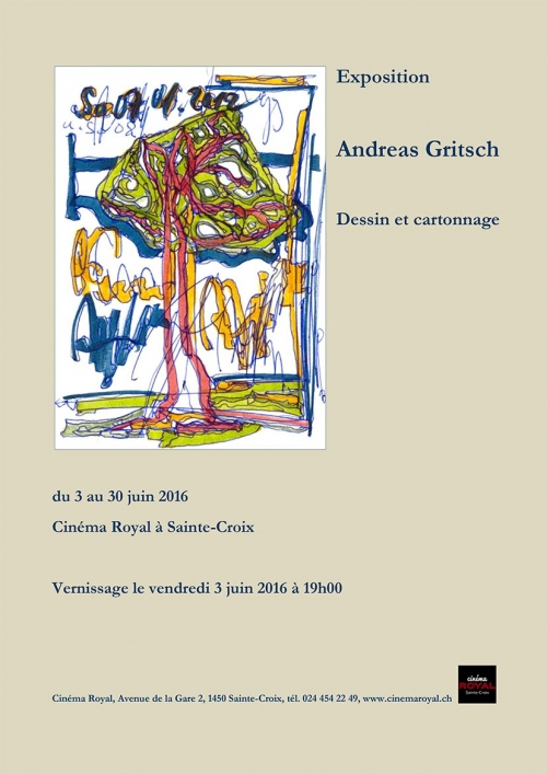 Vernissage de l'exposition Andreas Gritsch