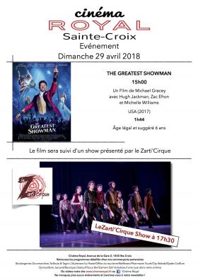 Show présenté par LeZarti'Cirque