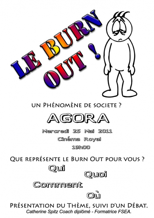 "Café agora ""Le Burn Out"""