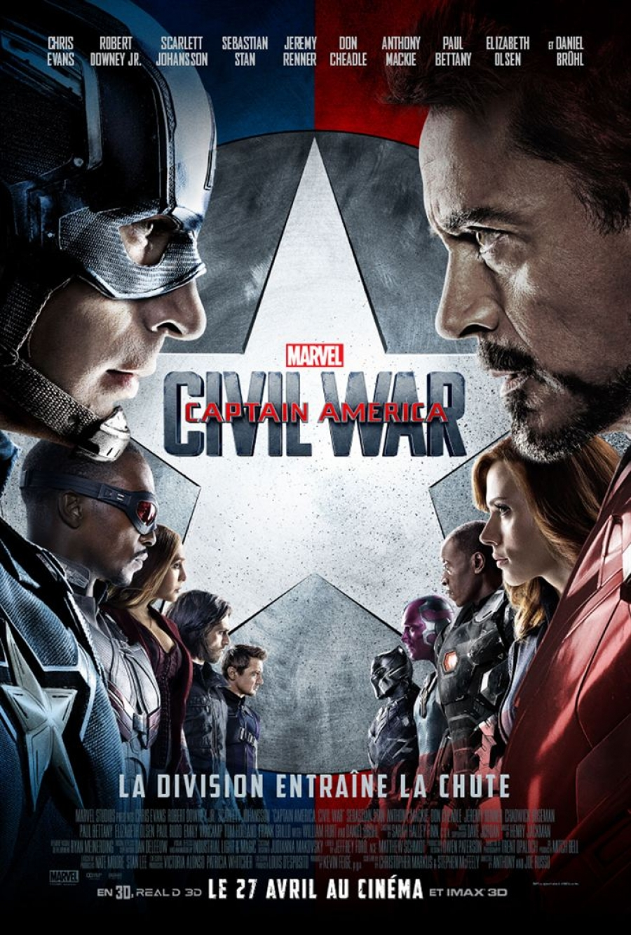 Captain America : Civil War (3D)