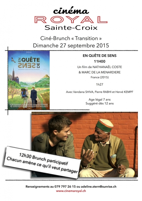 Ciné-Brunch « Transition »
