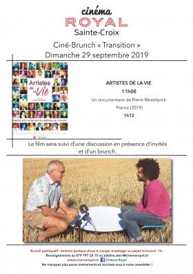 Artistes de la Vie (Ciné-Brunch Transition)