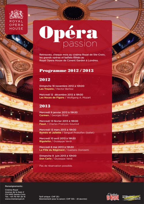 Opéra Passion 2012-2013