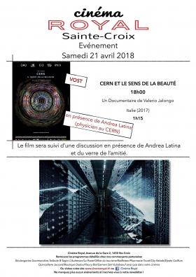 Cern et le sens de la beauté : En présence d'Andrea Latina (physicien au CERN)